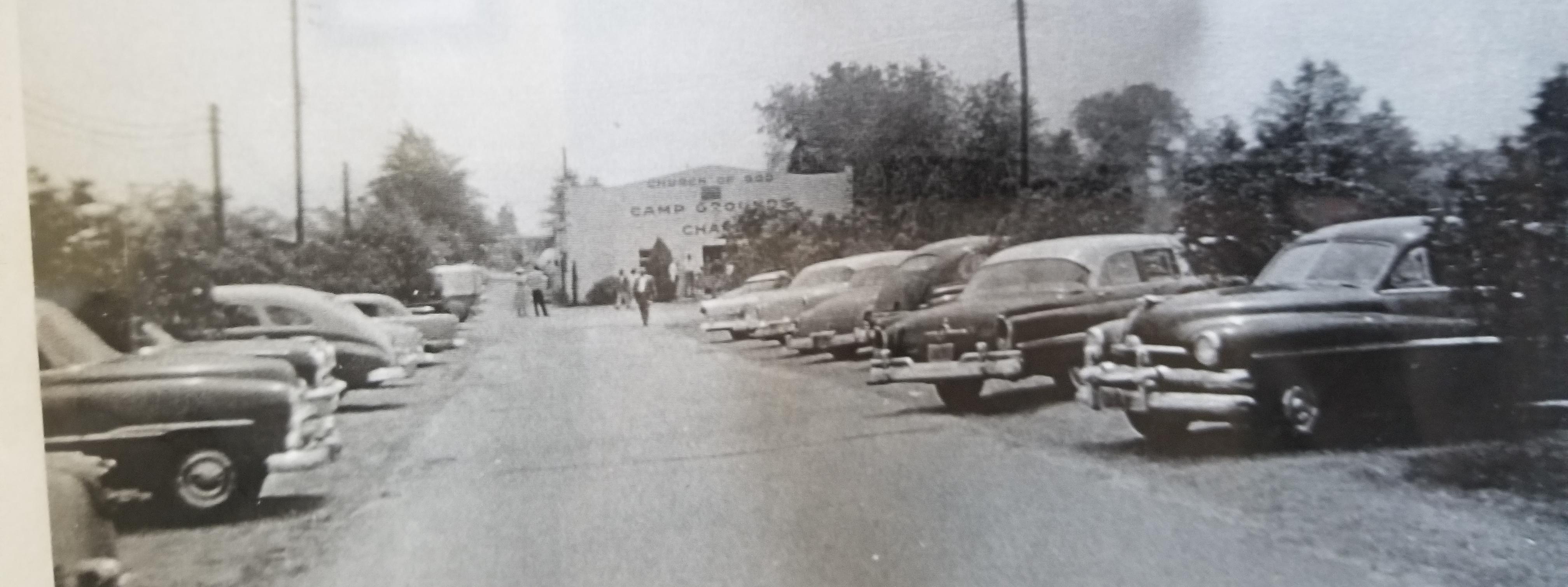 Driveway Entrance Historical View
