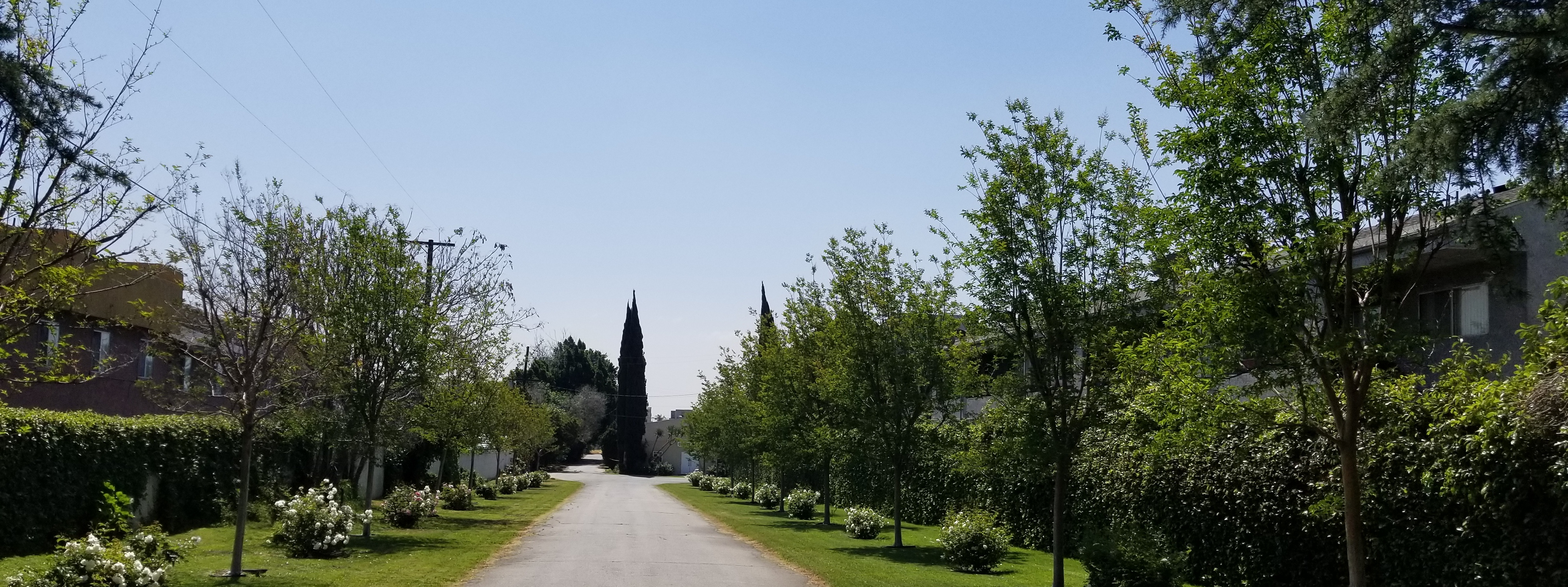 Driveway Entrance Current View
